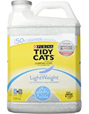 Tidy Cats Lightweight Clumping Cat Litter; Glade Scented - 3.86 kg jug