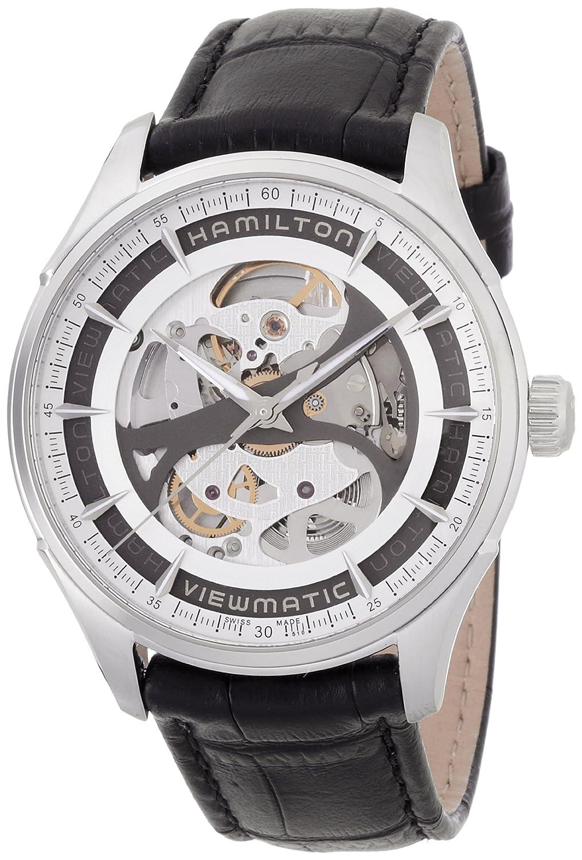 [ハミルトン]HAMILTON 腕時計 Jazzmaster Viewmatic Skeleton(ジャズマスター ビューマチック スケルトン) オートマチック H42555751 メンズ 【正規輸入品】 B00GXG6A54