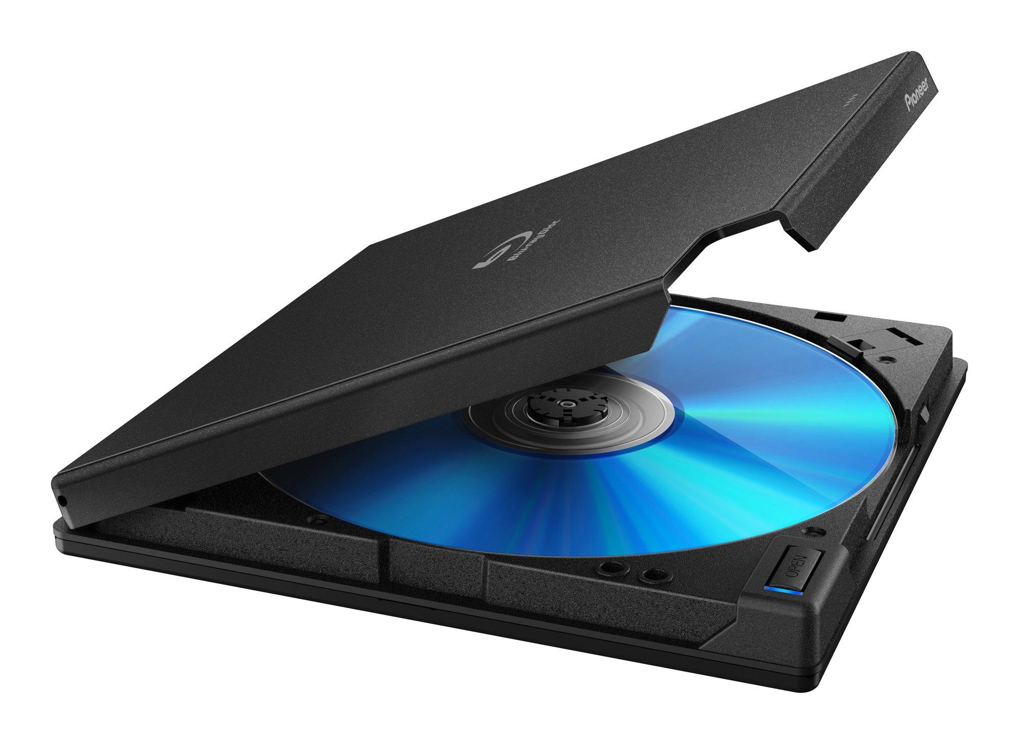 BDR-XD06J-UHD Pioneer Ultra HD Blu-ray Portable USB 4K Bluray Drive Supports BDXL/BD/DVD/CD by Pioneer Japan (Image #4)