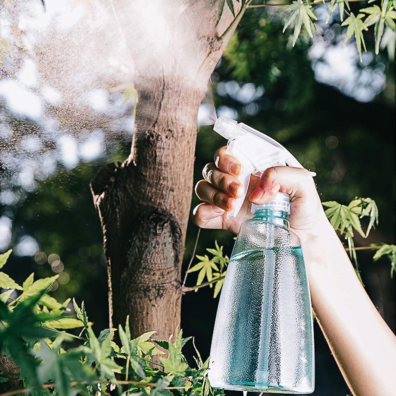Rosa Sakura//Verde Menta Limpieza Botellas Spray,2 Piezas 500ml Pl/ástico Vac/ías Botella de Spray Transparente Botella de Spray Plastico Pulverizador 2 Modos (Spray/&Chorro),para Plantas Cocina