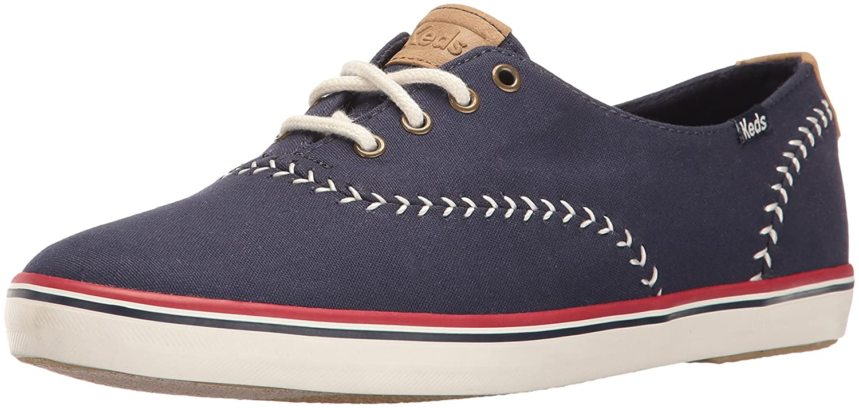 Keds Women's Champion Pennant Fashion Sneaker B01J7F5LG6 6 B(M) US|Peacoat Navy