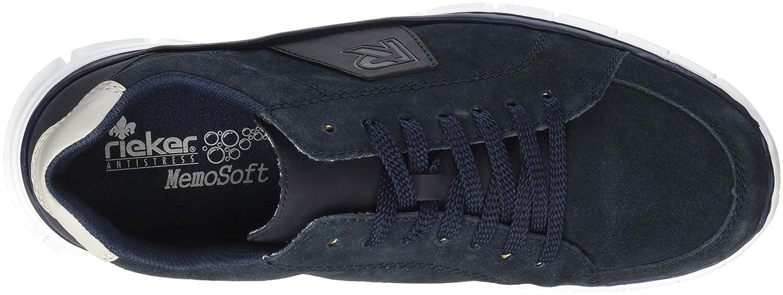 B4810 40 Homme Basses EU Pazifikoffwhite Bleu Rieker Sneakers dxYq8Od