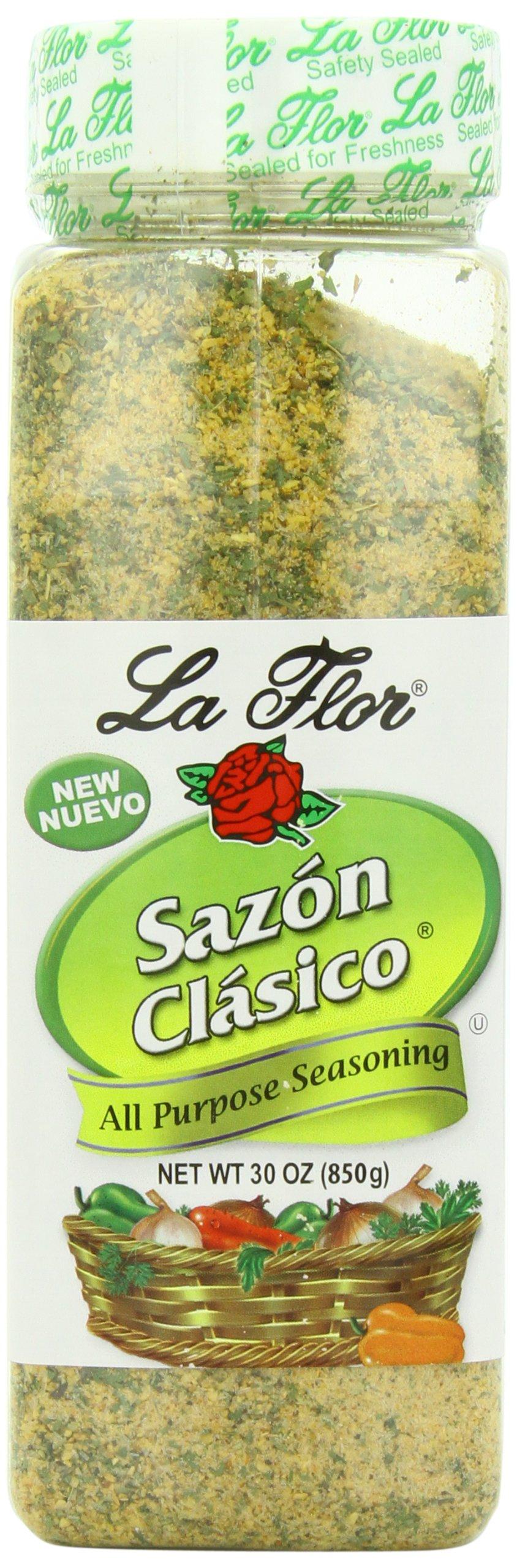 La Flor Spices Sazon Clasico, 30 Ounce