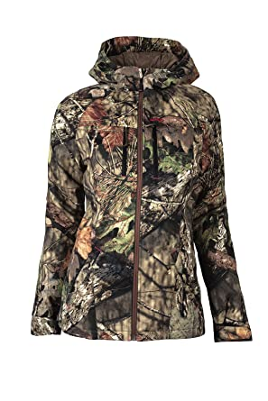 Walls Womens Legends Insulated Hooded Parka, Mossy Oak Break/up Country, ...