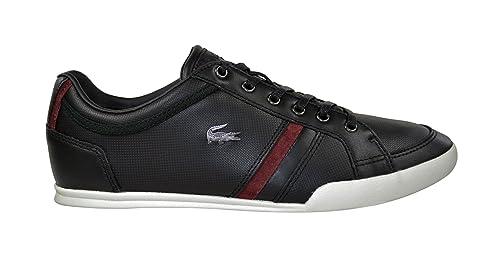 Lacoste - Zapatillas para Hombre Negro Negro, Color Negro, Talla 40: Amazon.es: Zapatos y complementos