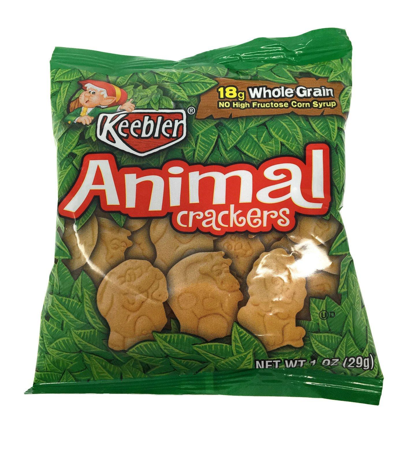 Keebler Animal Crackers Snack Packs, 1 oz. (Set of 20)