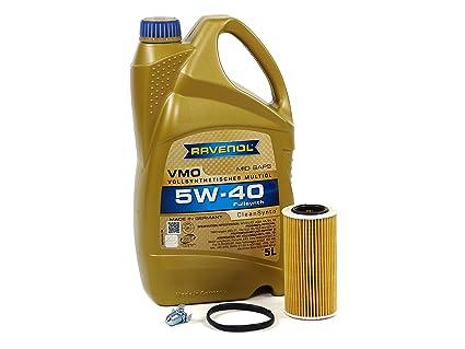 Blau J1A5086-B Audi A4 Motor Oil Change Kit - 2005-08 w/