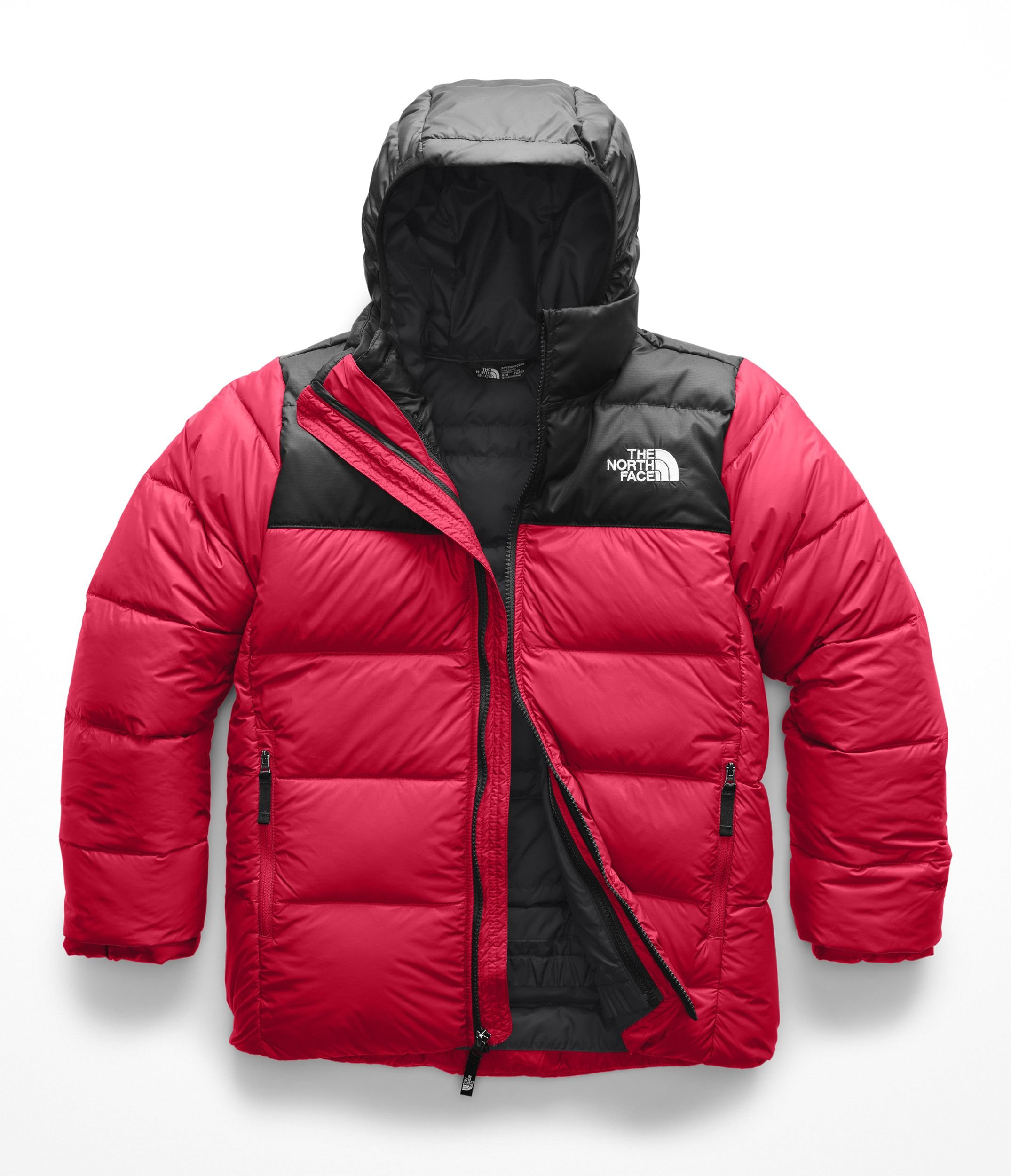 The North Face Kids Boy's Double Down Triclimate¿ (Little Kids/Big Kids) TNF Red Large