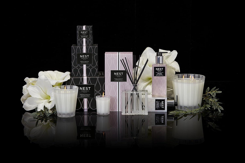 NEST Fragrances Classic Candle- White Camellia , 8.1 oz NEST01-WC