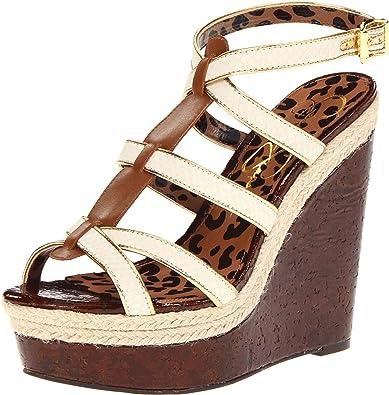 8faa61672f8 Jessica Simpson Women s Ginny Wedge Sandal