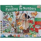 Reeves - 13157 - Peinture Par Numeros 30x40 Cm Arrosoir