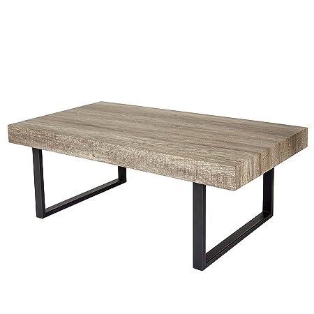 Tavolo Legno Rovere Naturale.Tavolino Da Salotto Kos T576 Legno Di Pioppo Rivestito 60x110x40cm
