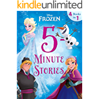 Frozen:  5-Minute Frozen Stories: 4 books in 1 (Disney Storybook (eBook))