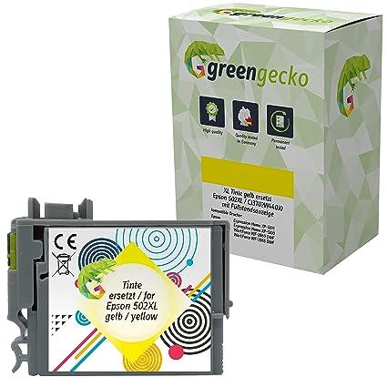 Green Gecko - Cartuchos de Tinta compatibles con Epson Expression ...
