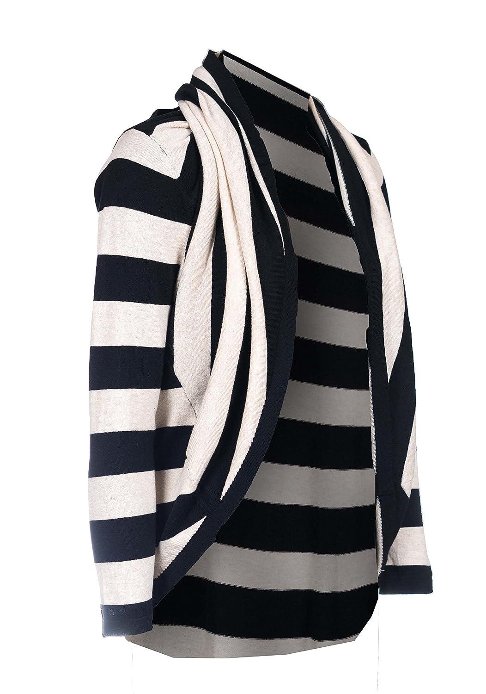 cardimomマタニティ、授乳& Babywearingセーター:カーディガン&ポンチョin one。のXS。のXS Black/Cream XL (Alcatraz) B01MT9DZ0Z S Black/Cream Stripe (Alcatraz) Black/Cream Stripe (Alcatraz) S, 市川町:8097ad45 --- sessaoretro.com.br