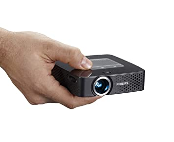Amazon.com: Philips ppx3614 Proyector de bolsillo, 140 ...