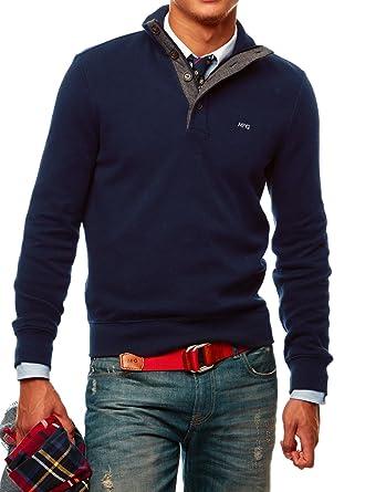 Xx Gregor Mc Large Et Vêtements Homme Bleu Pull PIzzqvd