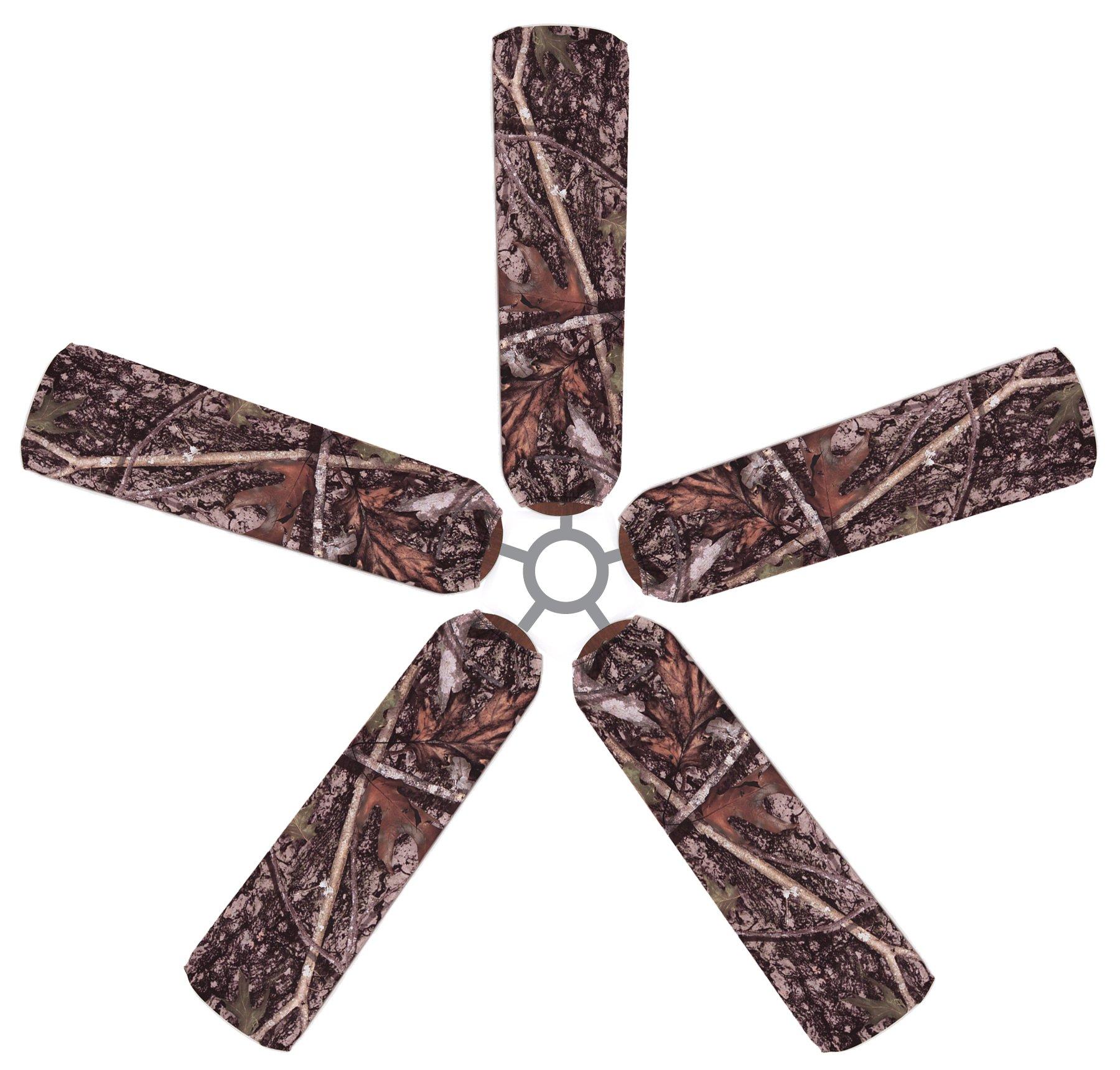 Fan Blade Designs True Timber Camo Ceiling Fan Blade Covers