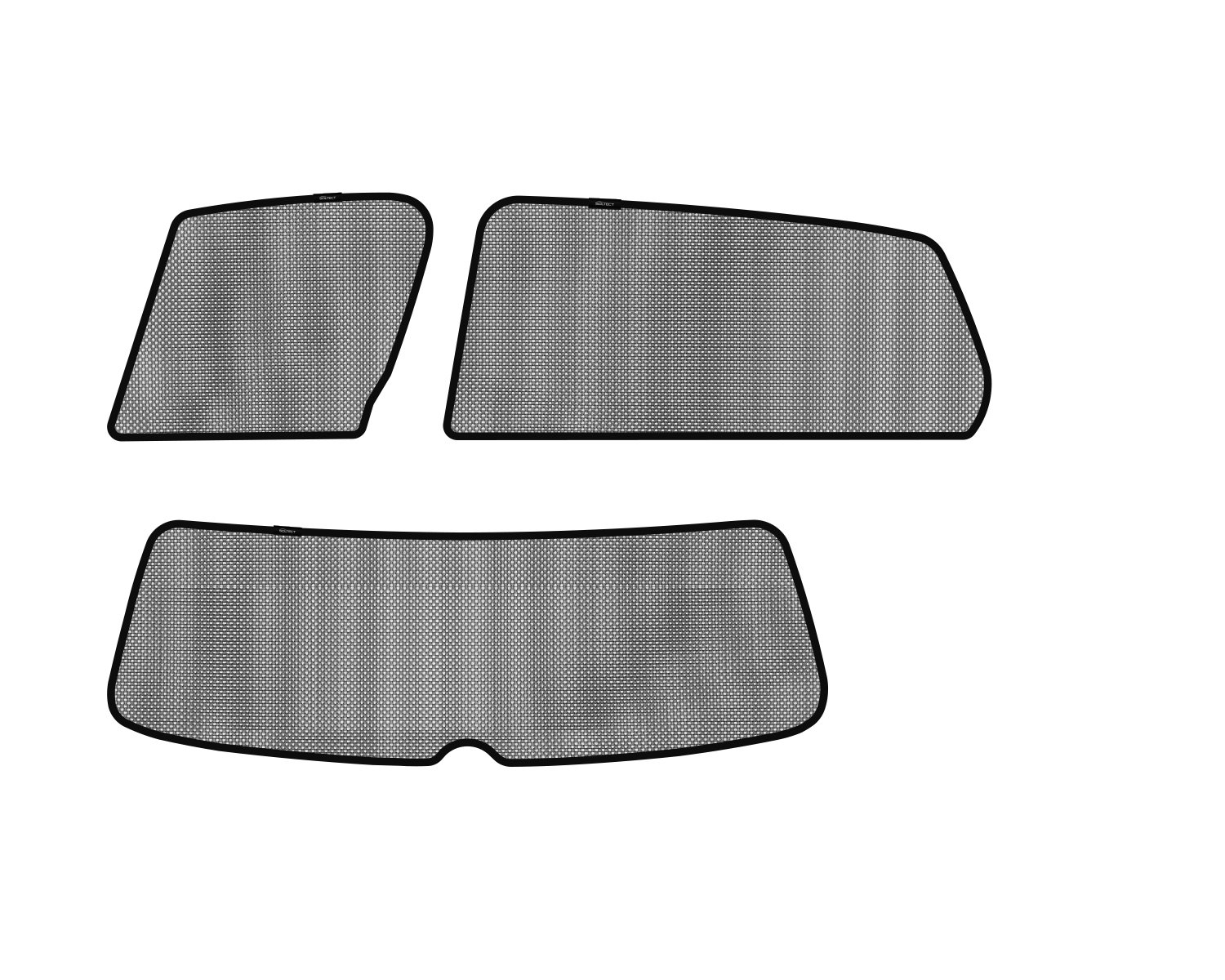 3D MAXpider S1VW0500 Soltect Complete Set Custom Fit Sun Shade (for Select Volkswagen Golf Models)