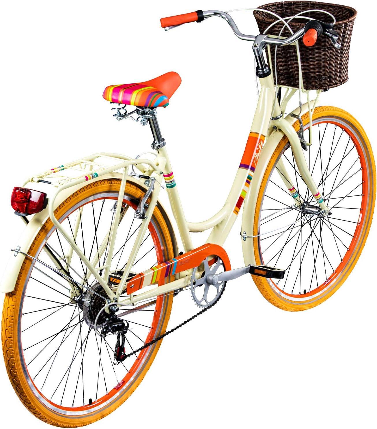 Bicicleta Chill de 28 pulgadas para mujer, urbana, estilo holandés ...