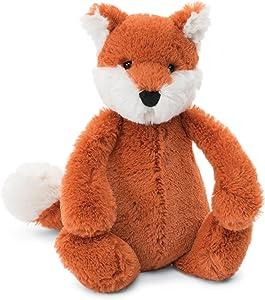 Jellycat Bashful Fox Cub Stuffed Animal, Small, 7 inches