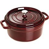 Staub 5 1/2-Qt. Round Dutch Oven Color: Grenadine