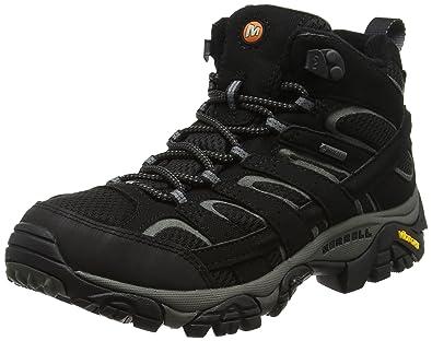 6b759e458 Amazon.com   Merrell Moab 2 Mid GTX Womens Walking Boots UK 8 Black ...