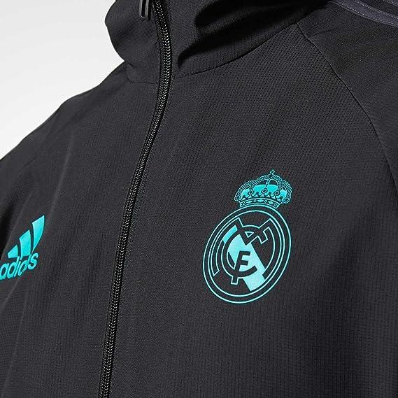 Temporada 20172018 Pre Adidas Chaqueta Cf Real Madrid Jkt Hombre aUqUHR 8c44b0abaec9d