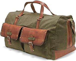 Drakensberg Kimberley Travel Briefcase Grün Umhängetasche Reise Tasche Vintage Herren-accessoires