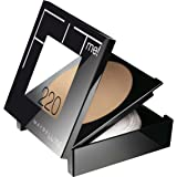 Maybelline New York Fit Me! Powder, 220 Natural Beige, 0.3 Ounce