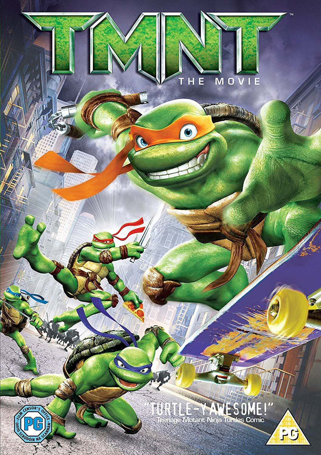 Teenage Mutant Ninja Turtles W [Reino Unido] [DVD]: Amazon ...