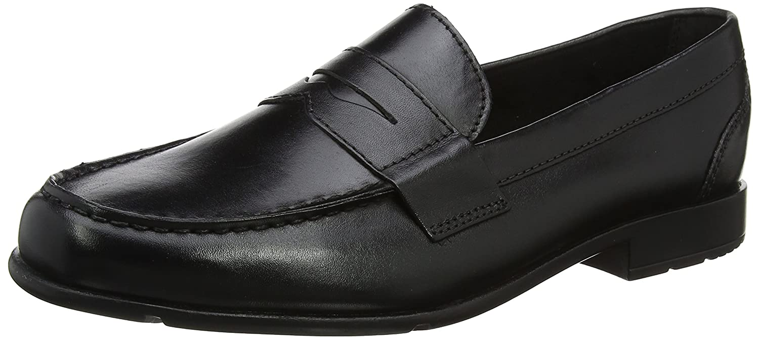 Rockport Classic Loafer Penny Black II, Mocasines para Hombre: Amazon.es: Zapatos y complementos