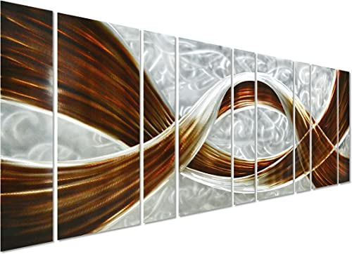 Pure Art Caramel Desire Metal Wall Art