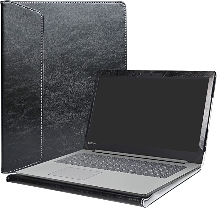 """Alapmk Protective Case Cover for 15.6"""" Lenovo Ideapad 320 15 320-15ikb 320-15iap 320-15abr/Ideapad 330 15 330-15IKB 330-15AST/Ideapad 520 15 520-15ikb Laptop(Note:Not fit Ideapad 320s/330s),Black"""