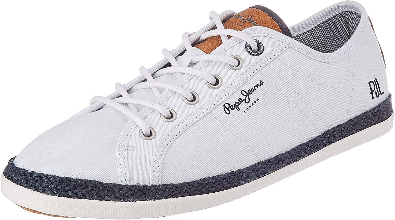 Pepe Jeans MAUI PMS 10280 Blanco Zapatillas para Hombre