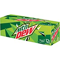 Mountain Dew Cans (12 Count, 12 Fl Oz Each)