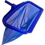 Greenerever Pool Skimmer Net 20' (50cm) Deep Bag  Heavy Duty Professional Leaf Cleaning Rake  Plastic Framed Fine Mesh…