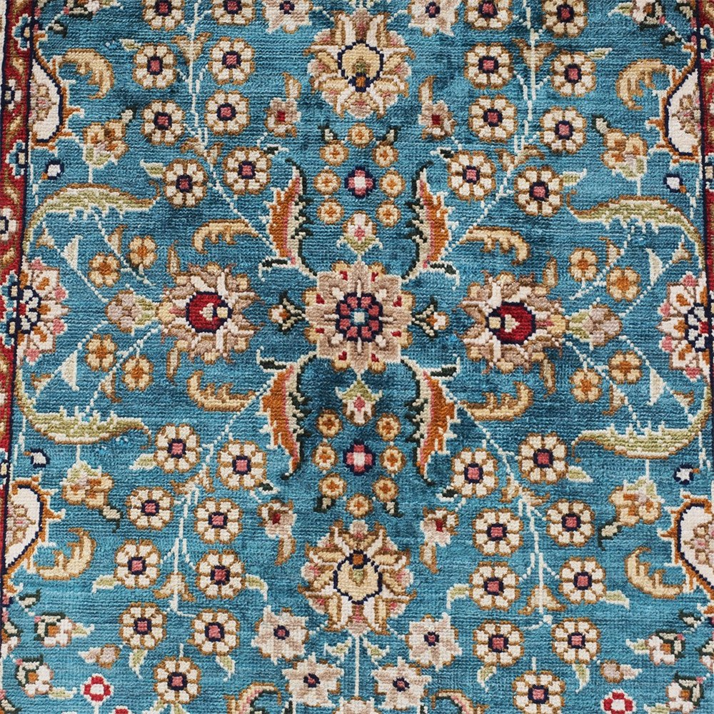 Amazon.com: Yilong 1.5\' x 2\' Small Oriental Rugs Hand Knotted ...