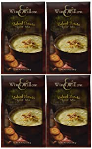Wind & Willow Baked Potato Soup, 6.9-Ounce Boxes (Pack of 4)
