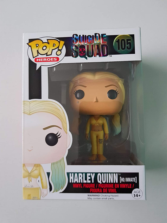 Figura Pop DC Suicide Squad Harley Quinn Inmate Exclusive