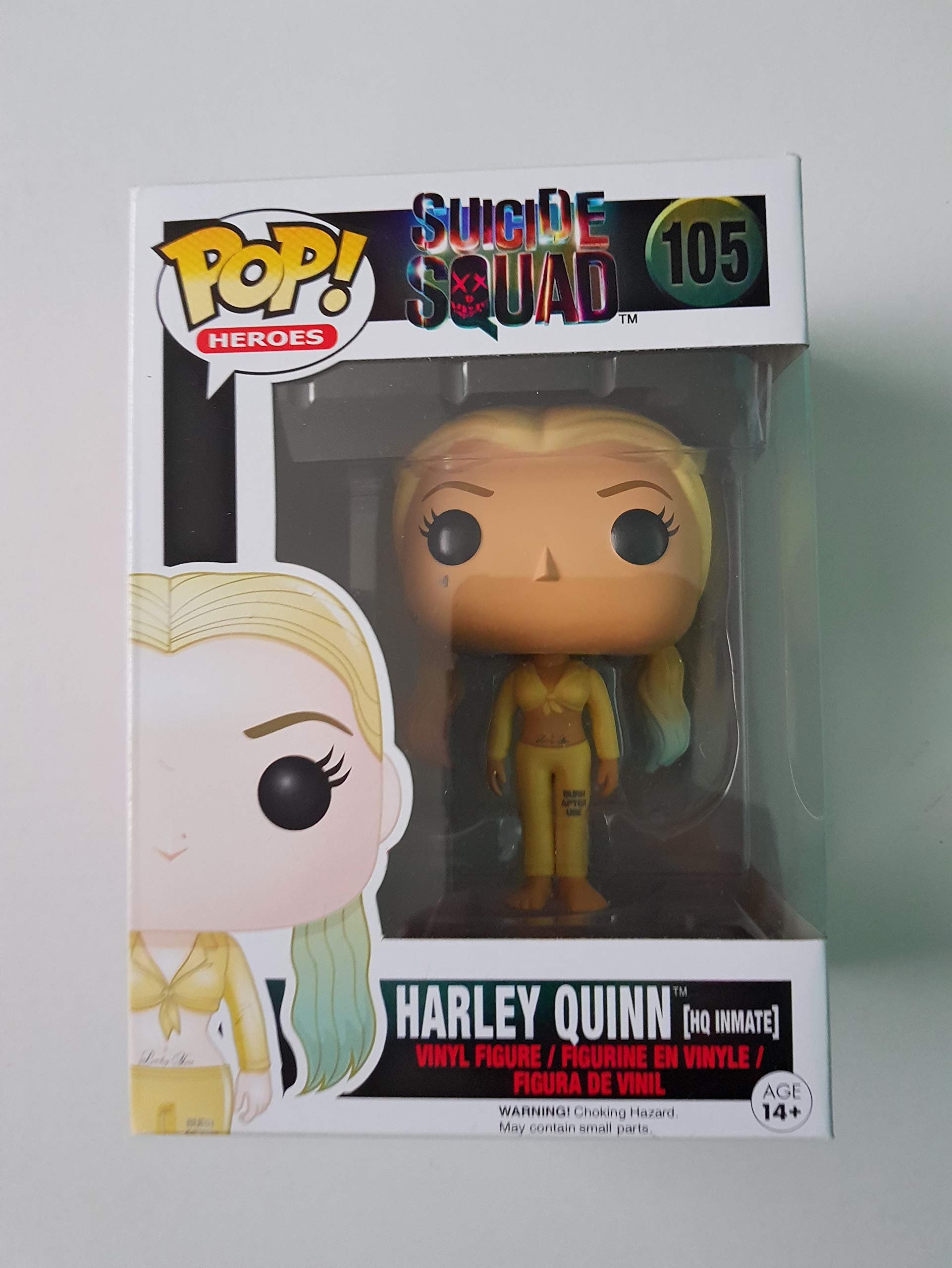 Funko Pop DC Heroes: Inmate Harley Quinn Collectible Figure, Multicolor