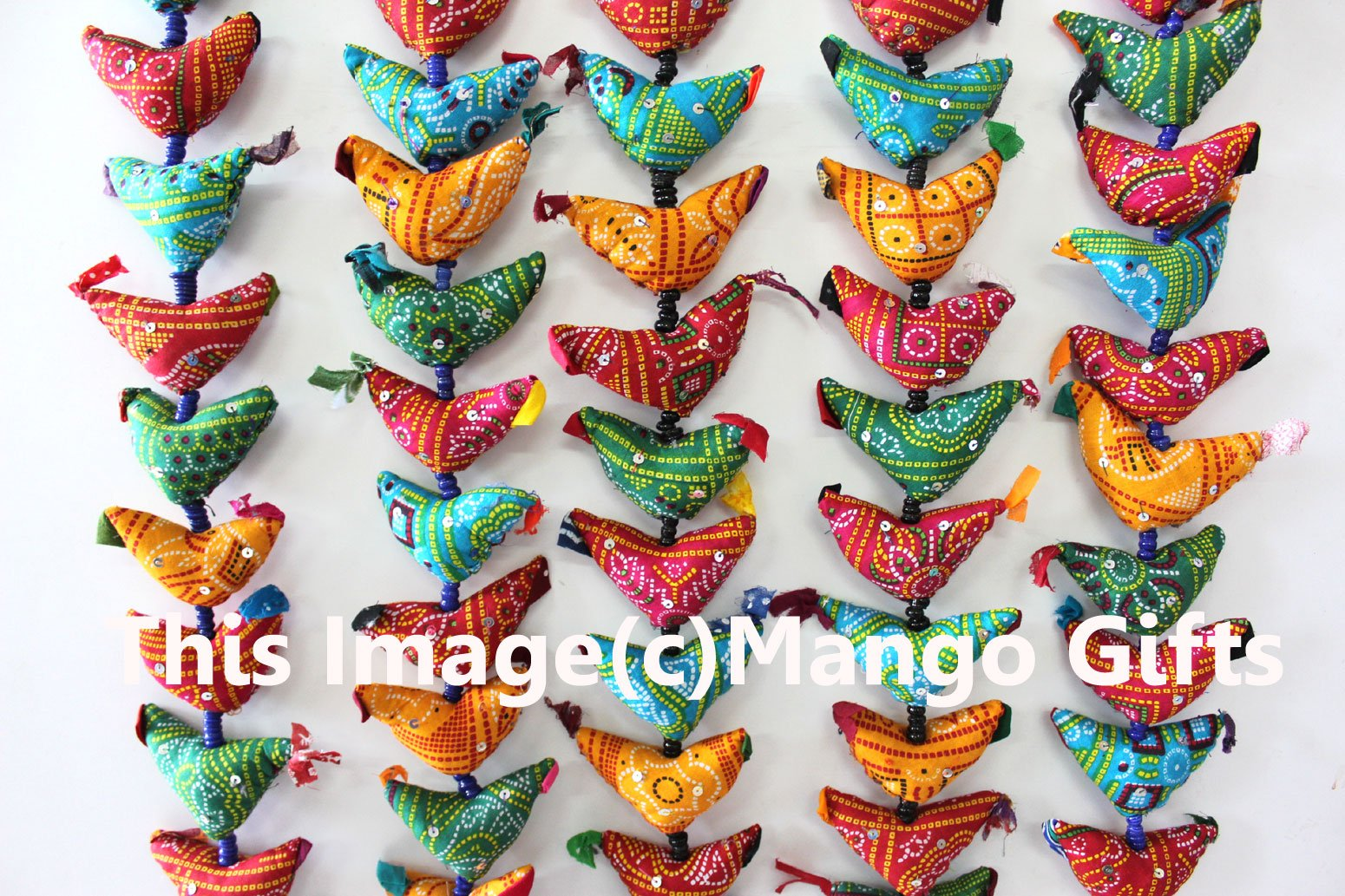 20 Tota Bird Bell Door Hanging Traditional Indian Hanging Decoration By Mango Gifts India