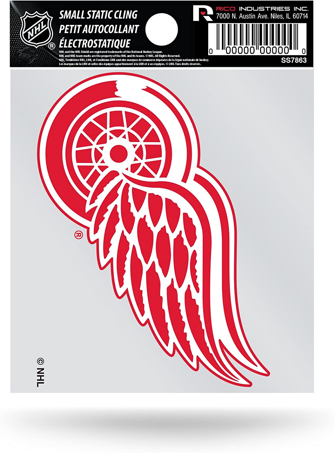 Rico NHL Small Static Decal