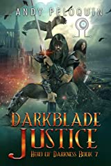 Darkblade Justice: An Epic Fantasy Murder Mystery (Hero of Darkness Book 7) Kindle Edition