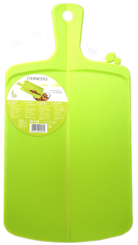 Ernesto - Tabla de cortar plegable, color verde: Amazon.es ...