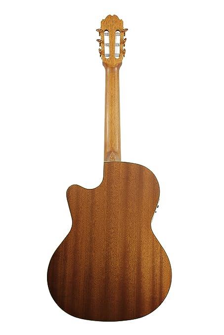 Amazon.com: Kremona S63CW Performer Series Acoustic/Electric Nylon ...