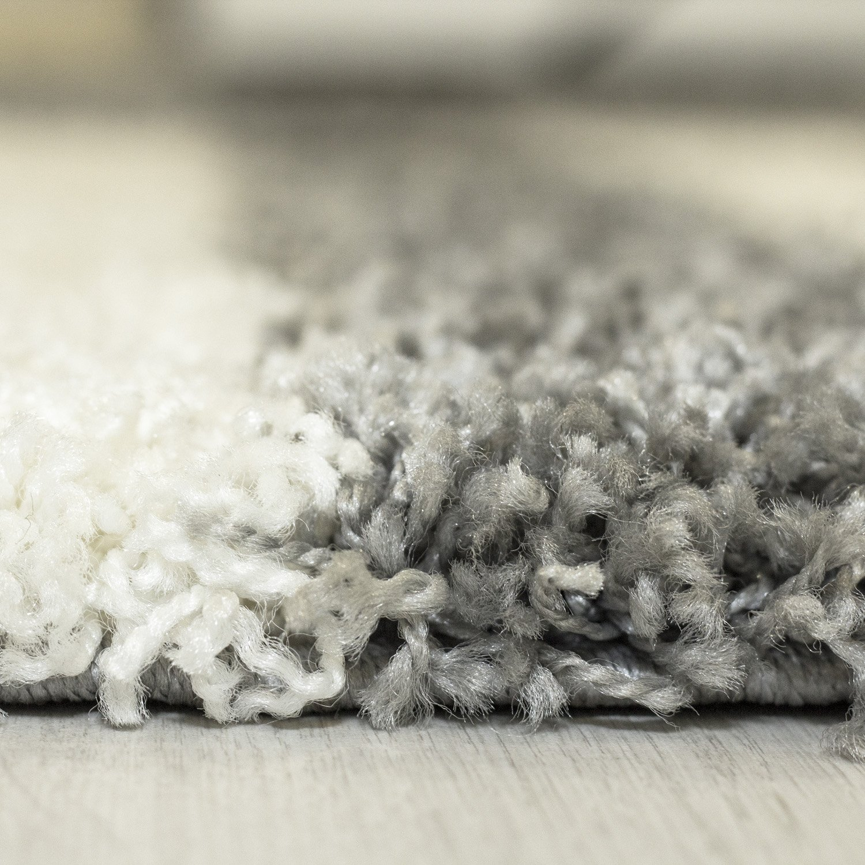 Hochflor Shaggy Teppich Teppich Teppich Rechteckig und Rund 3 cm Florhöhe Kariert Wohnzimmer, Farbe Grau, Maße 240x340 cm B077M3NR1T Teppiche 8d937c