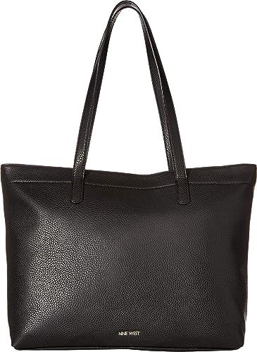 c31716f1f Amazon.com: Nine West Womens Elliseo Tote Black One Size: Clothing