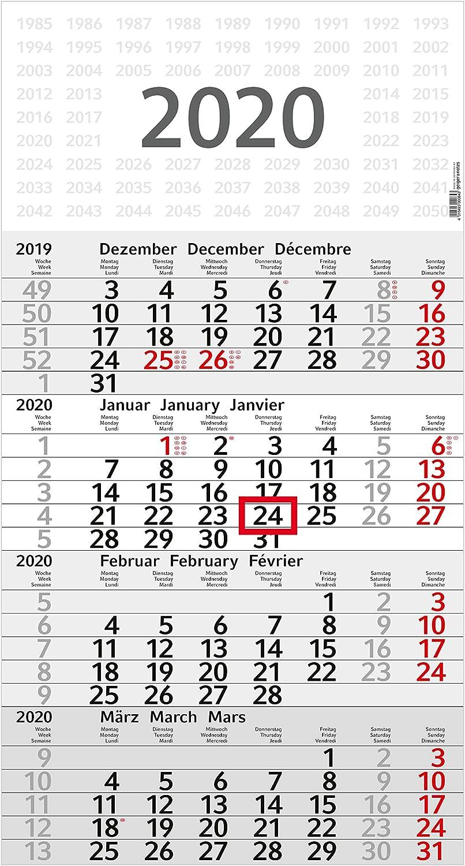 Geiger-Notes - Calendario Da 4 Mesi \budget 4\', 50 Pezzi
