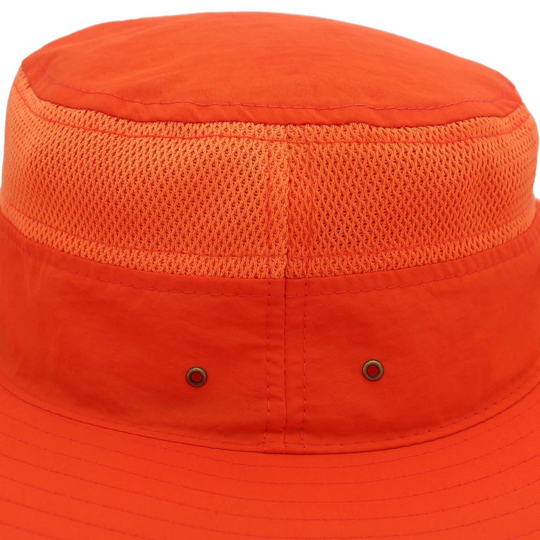 Wide Brim Bucket Hat Windproof Fishing Hats Home Prefer Mens Sun Hat UPF 50